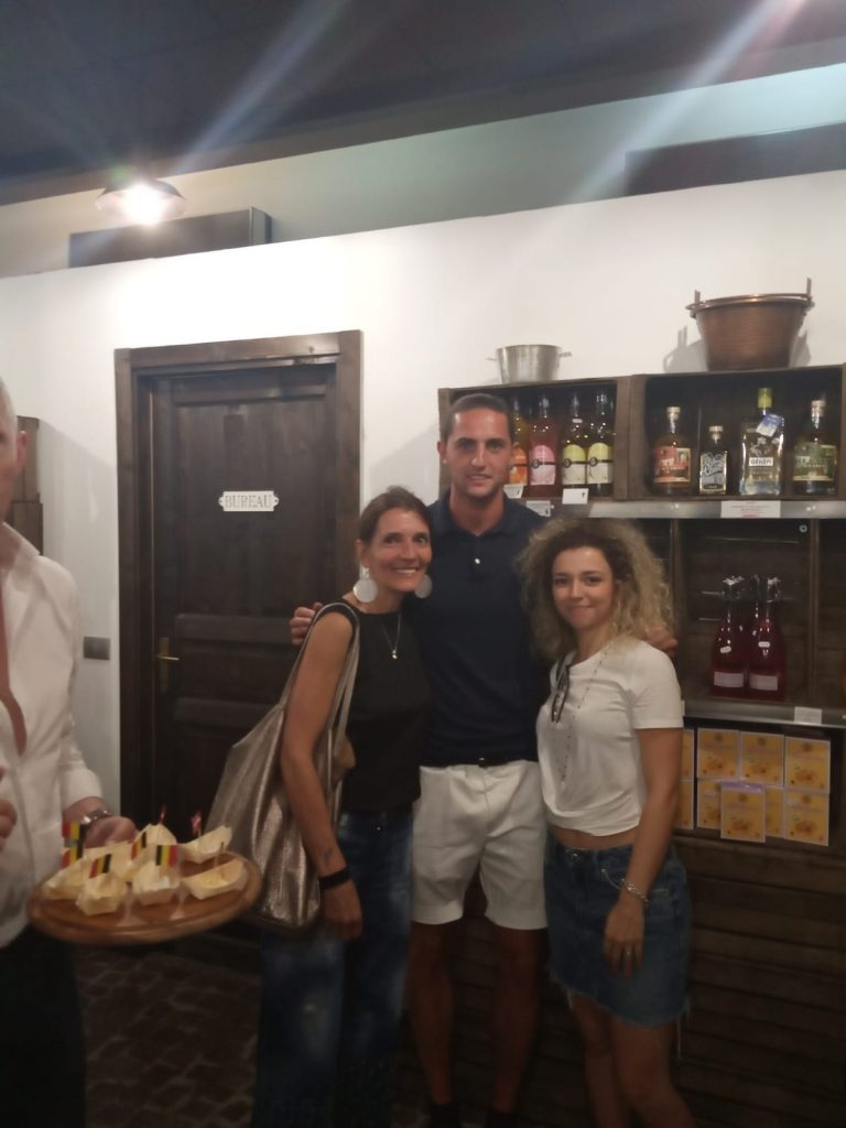 Adrien Rabiot con nostre cliente preferite