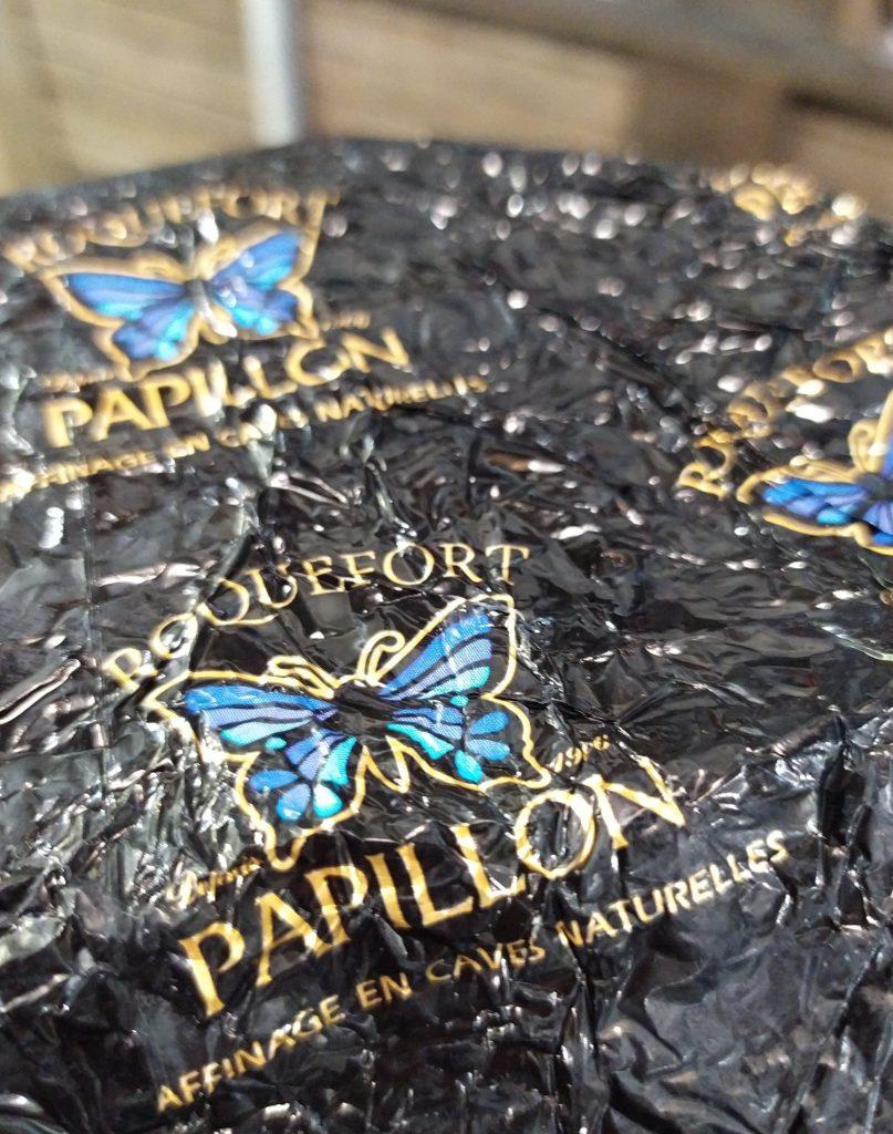Il top della gamma Roquefort Papillon, il nero. Il top della gamma Roquefort Papillon, il nero.