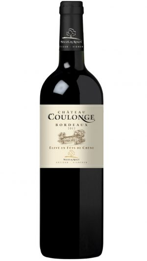 Chateau Coulonge rosso barricato