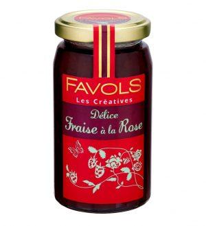 Marmellata di Fragole e Rose