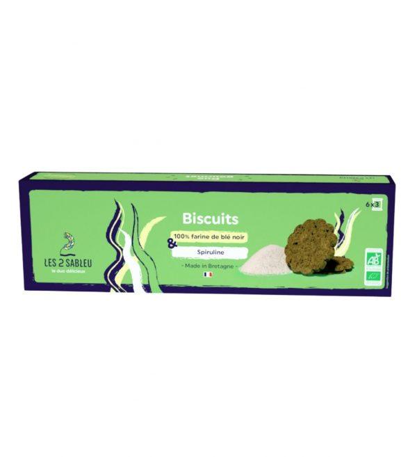 Biscotti spirulina e grano nero